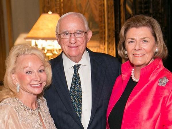 Mr. & Mrs. Cyrus Freidheim and Waverly Shirreffs