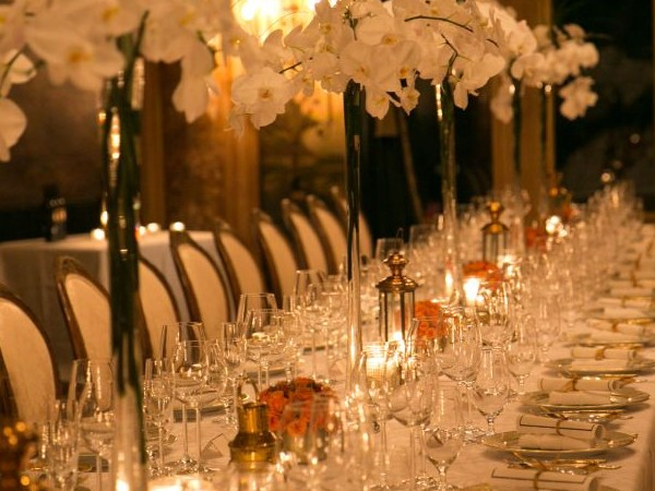 The dining room at Mar-a-Lago