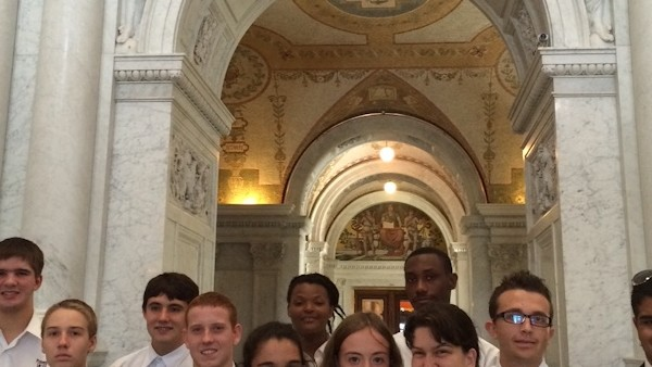 Group at the Library of Congress