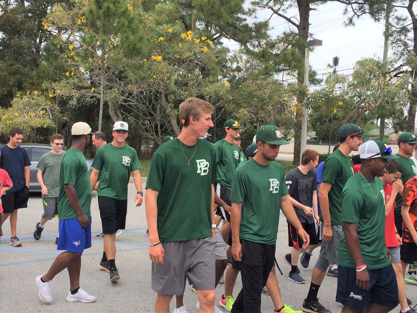 P.B. State Baseball Helps Train For Run