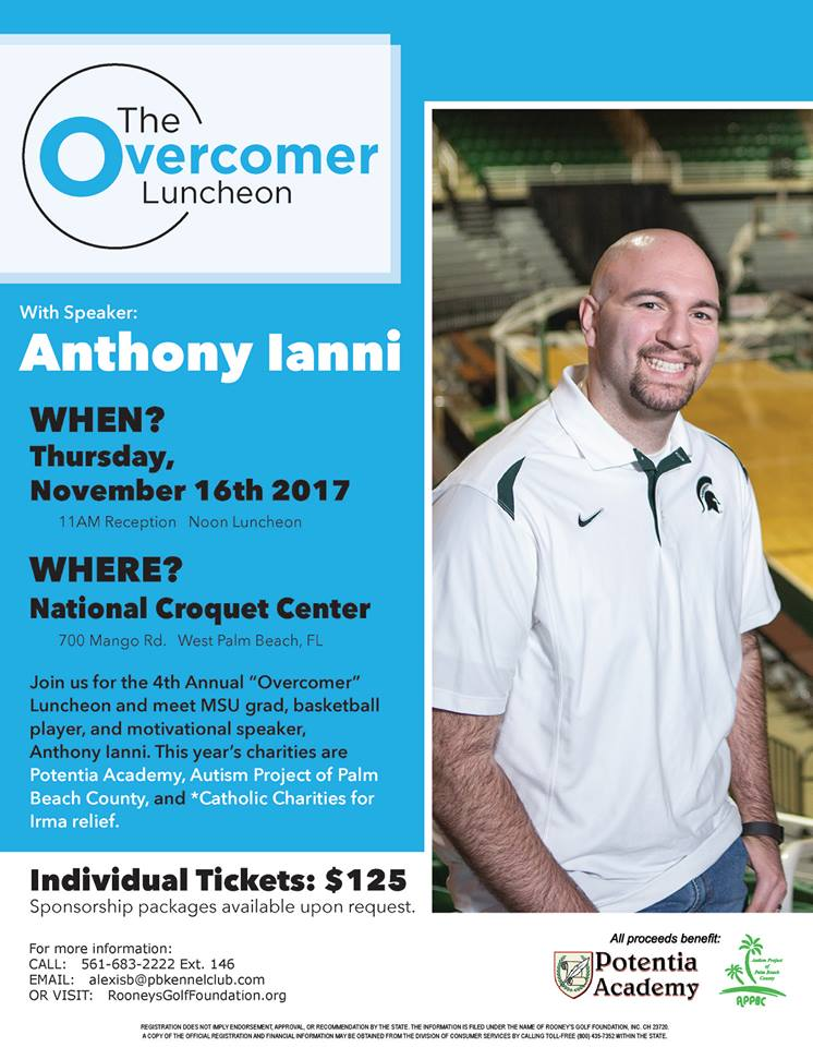 Be There - Overcomer Luncheon Nov. 16th