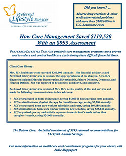 Care Management Saves Money