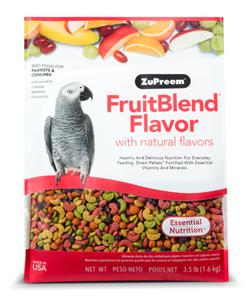 ZuPreem® FruitBlend™ Flavor Diets